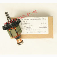 Motor Rotor Motor 360947 için HITACHI HIKOKI 360713 333550 WH18DL WR18DMR WR18DL WH18DMR WH18DSDL WR18DSDL WR18DM2