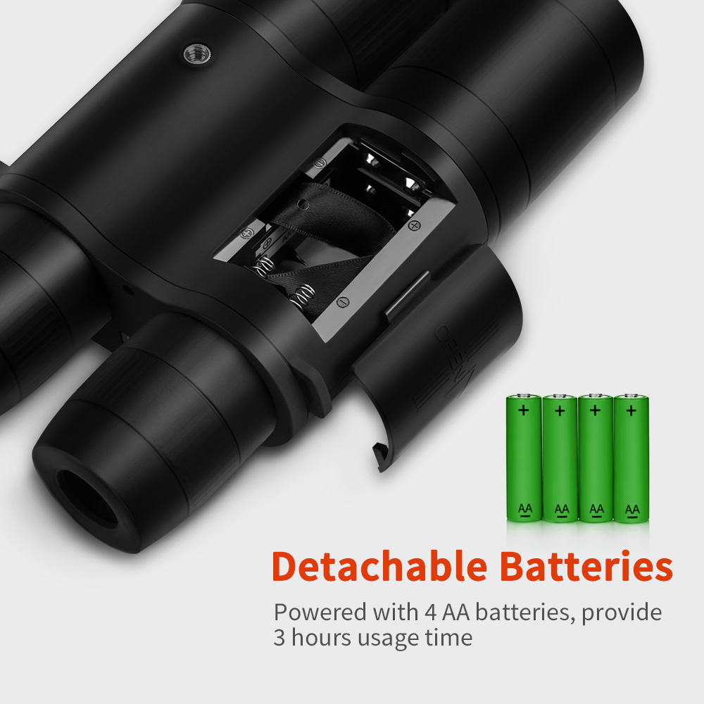 Image 4 - BOBLOV B8X 8x52mm Day Night Vision Binoculars HD Telescope Spotting Scope with Recording Function For Camping Hunting Outdoor-in Night Visions from Sports & Entertainment