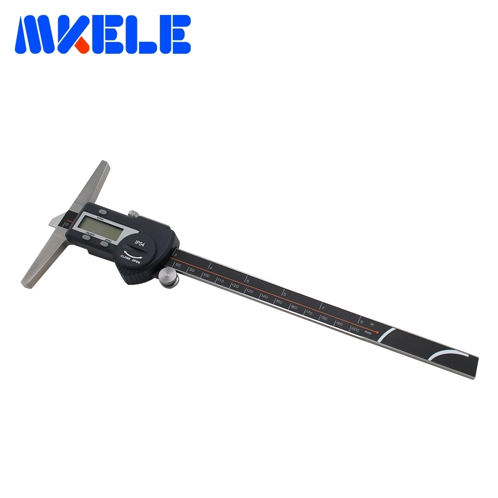 0-200mm Stainless Steel Electronic Digital Caliper Depth Vernier Caliper Micrometer Measuring Tools IP54 Waterproof 0 300mm high accuracy digital electronic vernier caliper lcd micrometer digital caliper stainless steel ip54 waterproof