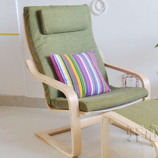 Charmant IKEA Bonn Style Wood Balcony Lounge Chair Armchair Bentwood Chair Recliner  Armchair Fashion Specials In Restaurant Chairs From Furniture On  Aliexpress.com ...