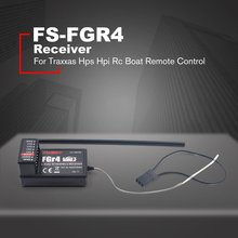 RC Car Fs-Fgr4 Receiver 2.4Ghz 4Ch Afhds3 For Flysky Noble Fs-Nb4 Transmitter For Traxxas Hps Hpi Rc Boat Remote Control flysky fs gt3b 3ch 2 4ghz cars boat rc remote control gun transmitter receiver low power consumption and stable performance d25