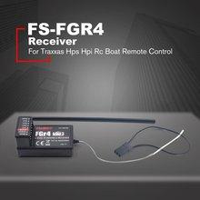 цена на RC Car Fs-Fgr4 Receiver 2.4Ghz 4Ch Afhds3 For Flysky Noble Fs-Nb4 Transmitter For Traxxas Hps Hpi Rc Boat Remote Control