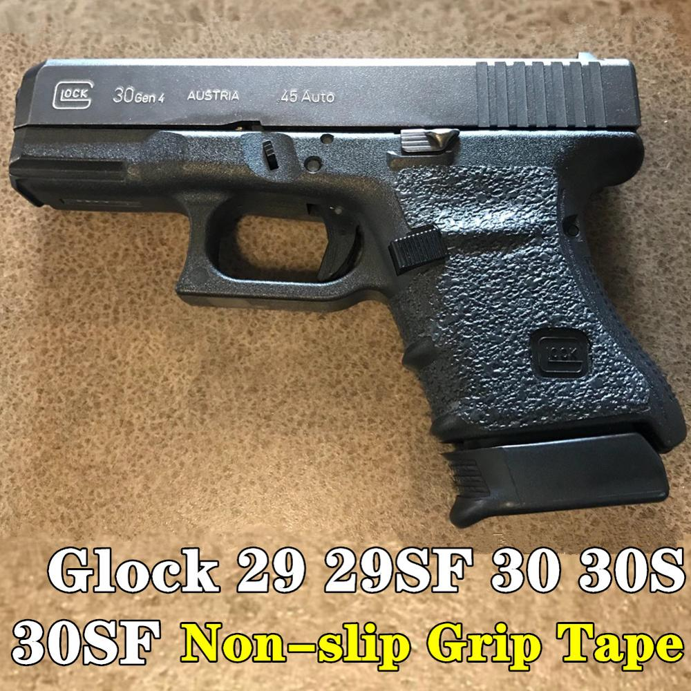 Non-slip Texture Rubber Grip Wrap Tape Glove for Gen 3 4 Glock 29 30 29SF 30S Pistol Gun Holster 10mm .45 Magazine Accessories image