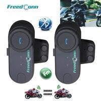 Updated Version 2PCS BT 1000M Bluetooth Headset Interphone Motorbike Motorcycle Helmet Intercom For 2 Riders Intercom