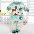 2016 New Fashion Baby Girl Boy Clothes Ropa De Bebe Cartoon Long sleeve Autumn / Winter Baby Clothing Sets Free shipping