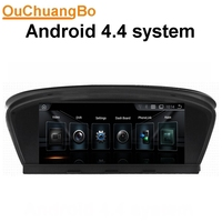 Ouchuangbo Android 4 4 Car Stereo Radio Multimedia Fit For E60 E61 E63 E64 M5 2003