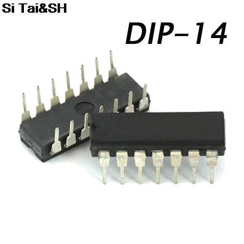 Free shipping 5pcs/lot LM319 LM319N DIP14-line high-speed dual comparator origin