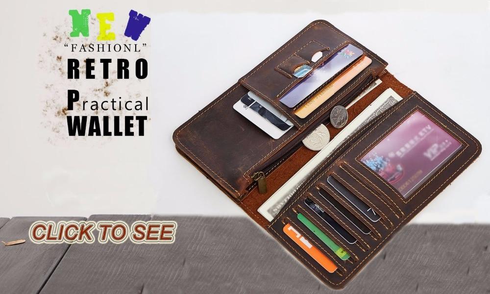 ̿̿̿(•̪ )<b>JOYIR</b> маленький кошелек Мужской кошелёк из ...