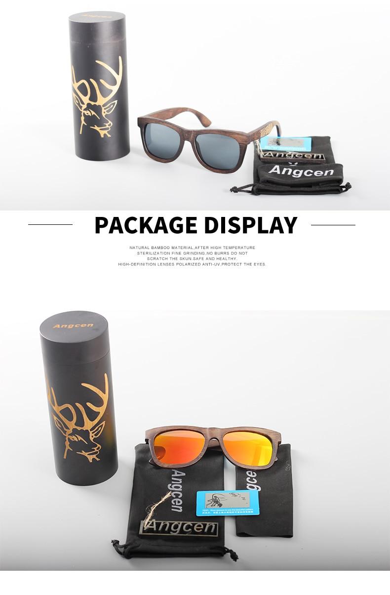 Angcen Unisex Polarized Sunglasses for Men Women 18