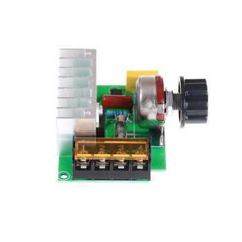 Promotion! 1PC Voltage Regulator Voltage Speed Controller AC 220V 4000W SCR Dimmer Without The Shell