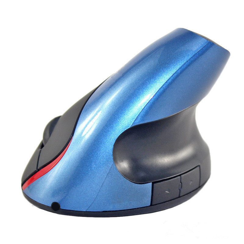 BASIX NEW 2.4Ghz Wireless Mouse Optical Healthy Ergonomic Mouse 5 Buttons With DPI Switch Vertical Mouse For Computer PC laptop