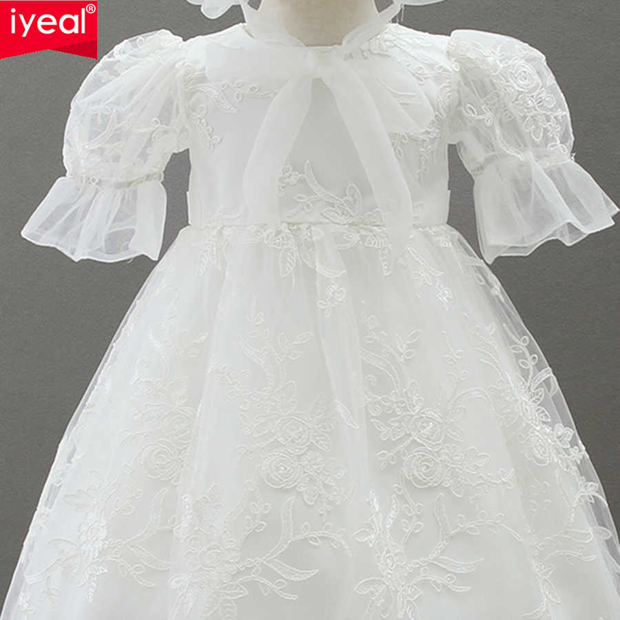 2c2270c2827c8 IYEAL Newest High-end Baby Girl Dress for Newborn Christening Gown Kids  Infant 1 Year Birthday Wedding Party Christmas Dresses