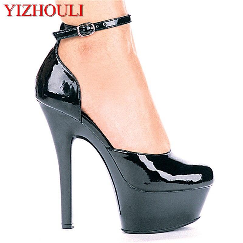 15cm interest high heels Paris fashion fashionable nightclub princess shoes Black paint bottom leather shoe heels15cm interest high heels Paris fashion fashionable nightclub princess shoes Black paint bottom leather shoe heels