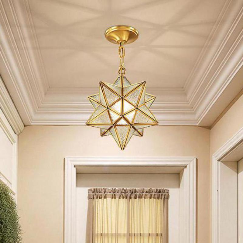 Salon Led Star Ceiling Light Fixture