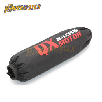 Motorcycle 350mm Rear Shock Absorber Suspension Protector Protection Cover For Dirt Pit Bike CRF YZF KTM KLX ATV Quad scooter motorcycle 350mm rear shock absorber suspension protector protection cover for dirt pit bike crf yzf ktm klx atv quad scooter