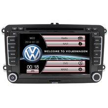 Wince6.0 double din navigation for Volkswagen VW golf 5 6 passat B6 CAR DVD PLAYER AUDIO VW Tigua Reversing Camera RDS USB FM AM
