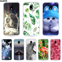 "Silicone Case For Samsung Galaxy J3 2017 J330 F Cover 5.0"" Soft TPU Print Cases for Samsung J 3 2017 330 Phone Bags Protective(China)"