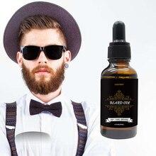 Cosprof 1PCS 100% Natural Men Beard Oil for Moisturizing Smoothing Gentlemen Bea