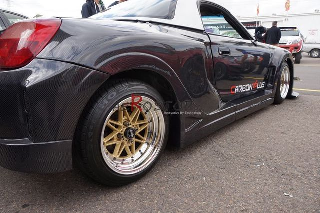 US $270 0 |MR2 ROADSTER W30 MRS SYPDER APR S GT WIDEBODY REAR FENDER 45MM  FRP FIBER GLASS-in Body Kits from Automobiles & Motorcycles on