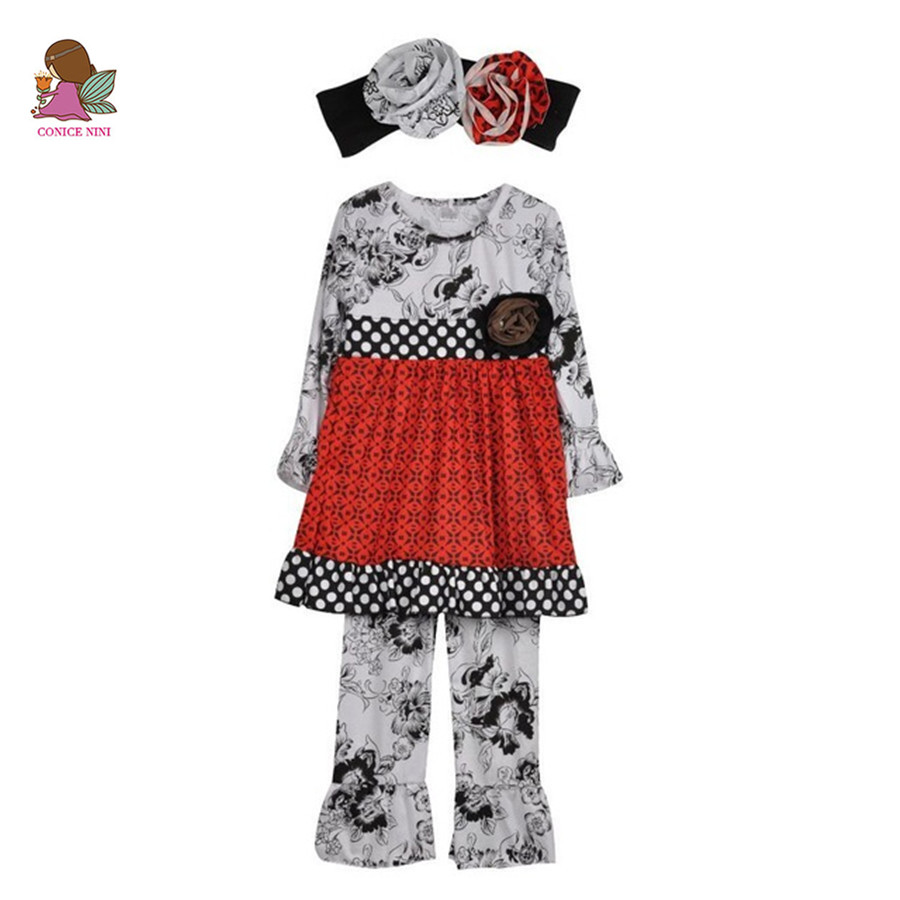 Children Clothing Sets Fall Winter Cotton Boutique Toddler Bib White Polk Dot Pattern Outfits Ruffle Pant With Headband F073 frank buytendijk dealing with dilemmas where business analytics fall short