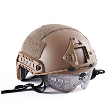 New Tactical Training Helmet With Protective Material Outdoor Sport Helmet Military Army Plastic Safety Helmet Free Shipping
