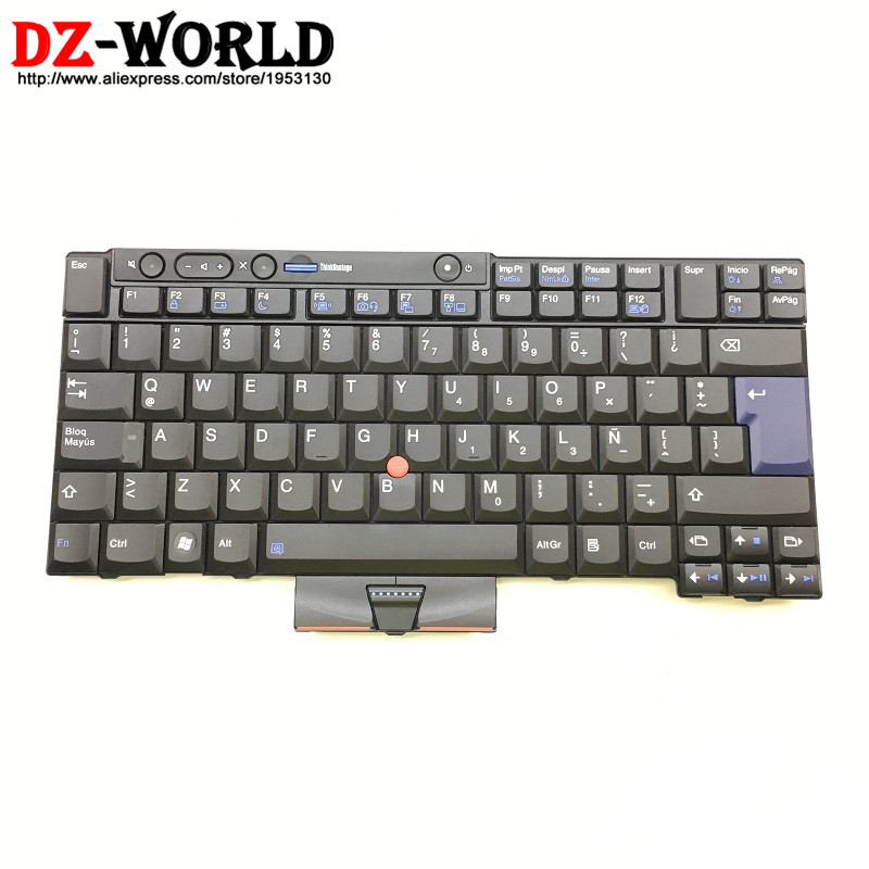 New/Orig for Thinkpad T510 T510i T520 T520i W510 W520 Latin American Spanish Keyboard Teclado 45N2144 45N2109 45N2214 45N2074 new keyboard for lenovo thinkpad t410 t420 x220 w510 w520 t510 t520 t400s x220t x220i qwerty latin spanish espanol hispanic