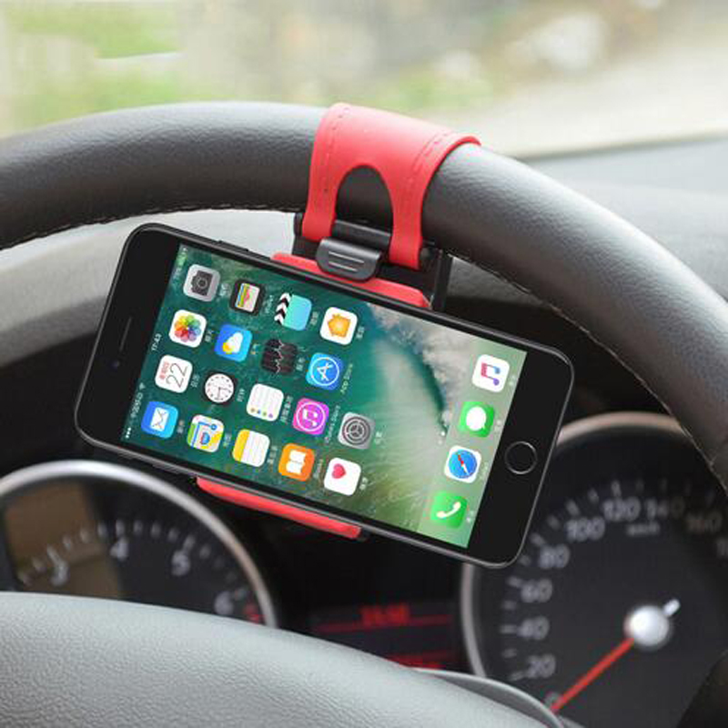 Рулевого колеса автомобиля мобильного телефона держатель Зажим Щипцы Для <font><b>Audi</b></font> A3 A4 A5 <font><b>A6</b></font> A7 A8 B6 B7 B8 c5 C6 TT Q3 Q5 Q7 S3 S4