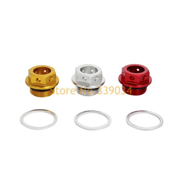 CNC De Aluminio Del Motor Magnético de Drenaje de Aceite Perno/Enchufe Para Ducati 999/749/996/748/Monster/696/Multistrada 620/1000/1100