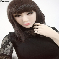 Top Grade silicone crossdresser artificial Female mask realistic transgender latex sexy cosplay for male halloween face masks