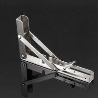 2 шт из нержавеющей стали складной стенд стол кронштейн полка скамья 200 кг нагрузка Тяжелая JDH99