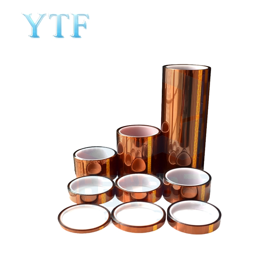 3D Printer High Temperature Tape Adhesive Paper Heating Bed Dedicated PLA ABS   Brown Color Small Rolls