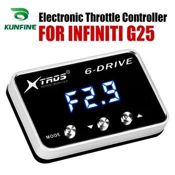 Controlador Electrónico De Acelerador De Coche Racing Acelerador Potente Booster Para INFINITI G25 Accesorio De Piezas De Sintonización