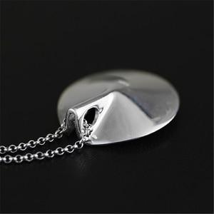 Image 3 - 蓮楽しいリアル 925 スターリングシルバー天然真珠手作りファインジュエリーヴィンテージネックレスなしacessorios女性のための
