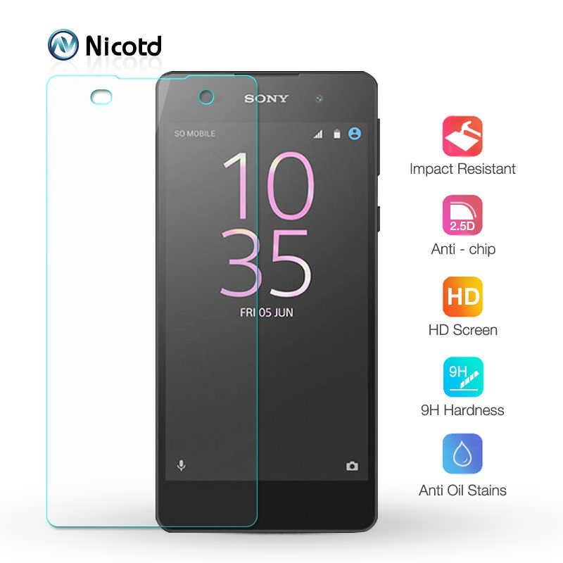 Nicotd Kính Cường Lực Cho Sony Xperia E5 M5 M4 9H HD Cường Lực Bảo Vệ Màn Hình Bảo Vệ Cho Xperia E4G e4 E3 C3 C4 C5 M2