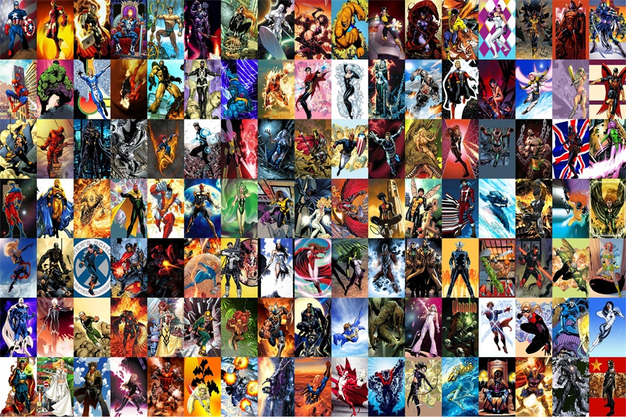 Marvel Wall Mural popular avengers wall mural-buy cheap avengers wall mural lots