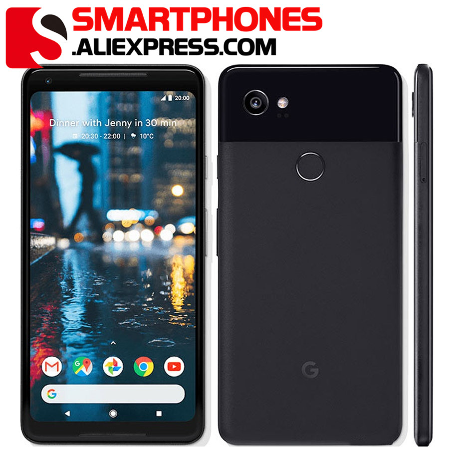 Original Unlocked US version Google Pixel 2 XL Octa Core 4GB RAM 64GB 128GB ROM 1440x2880