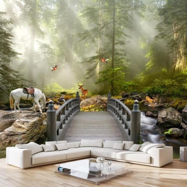 Beibehang Kustom Seni Lukis Modern Kualitas Tinggi Pemandangan Alam