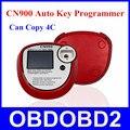 Versão mais recente Programador Chave Do Carro CN900 OEM CN 900 Atuo Pró chave Para 4C Chip Suporte Inglês Com 3 Anos garantia