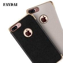 Faydai для Apple IPhone 6S случае покрытие TPU мягкий чехол для iPhone 6/6 S 6 плюс роскошный Силиконовая задняя Чехол Коке Fundas