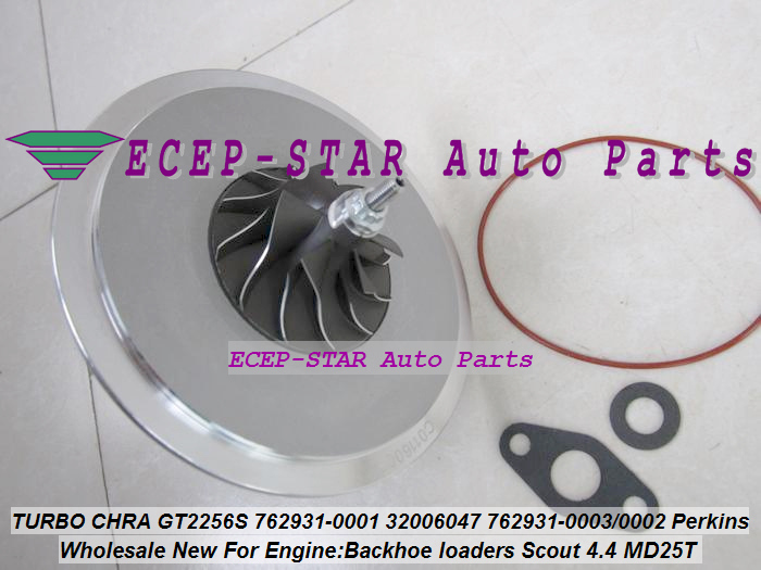 Turbo Cartridge CHRA GT2556S 762931 762931-5001S 762931-0001 Turbocharger For Perkin Backhoe loaders JBC Agricultural Scout 4.4L (4)