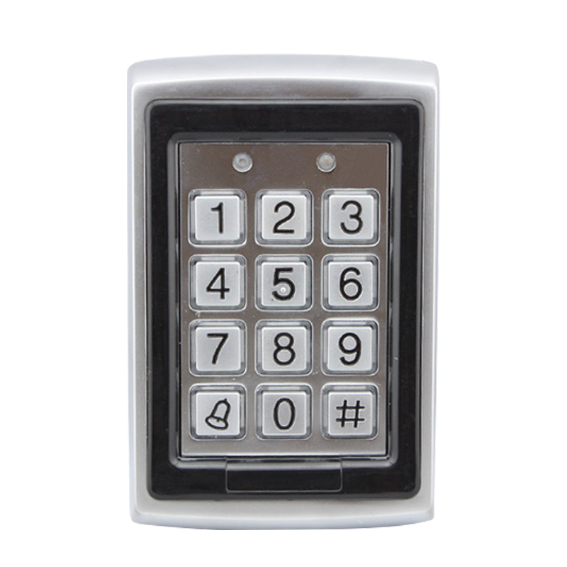 Wholesale Metal RFID Reader Entry Code Keypad RFID Door Access Control In Stock FREE SHIPPING купить в Москве 2019
