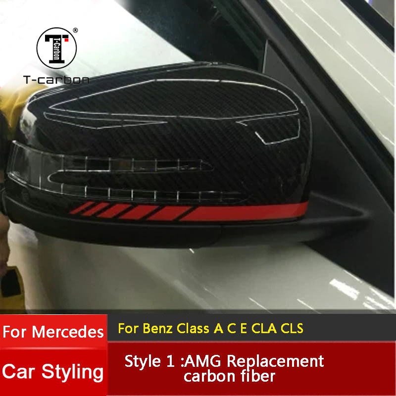 For Mercedes Benz A B C E S CLS GLK Car Rearview Mirror Refiting Class Rearview Mirror replace Shell
