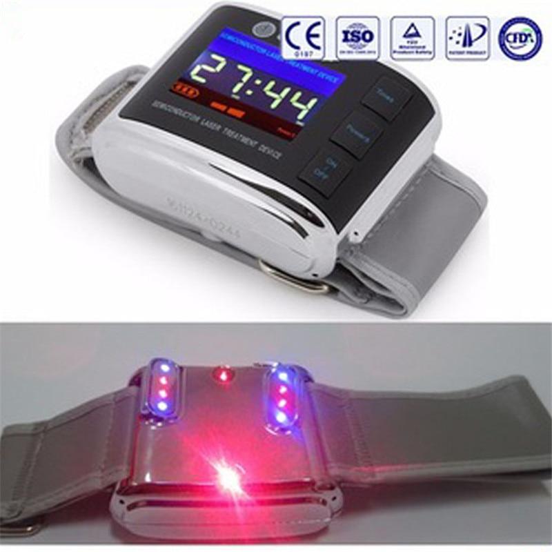 Weber médica fabricação relógio do laser para tratar Os Sintomas de fadiga/batimento cardíaco Rápido/Alta pressão arterial