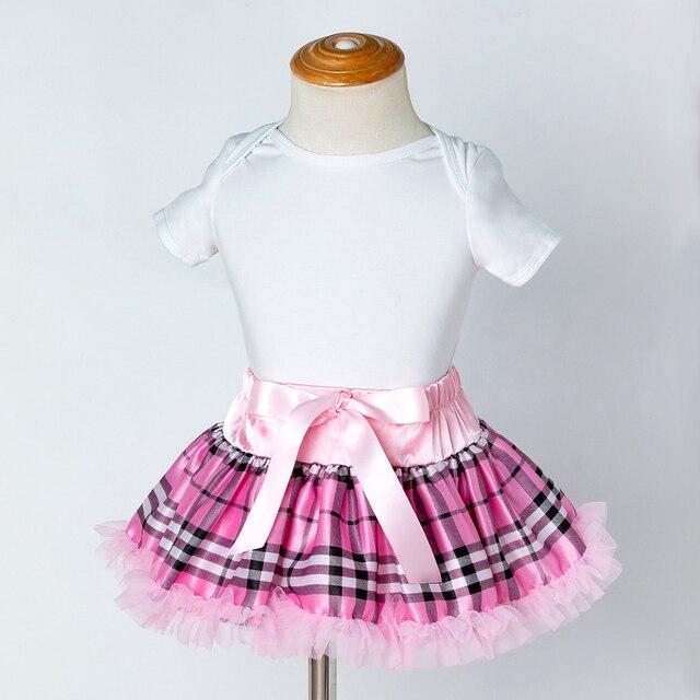 78b20244e Cute Baby Tutu Skirt Girls Lace Ruffle Bow Skirts Kids Chiffon ...
