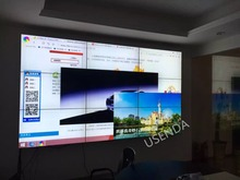 For control room,40 inch lcd video wall display in 2×2,3×3,4×4,3×4 multi-screens