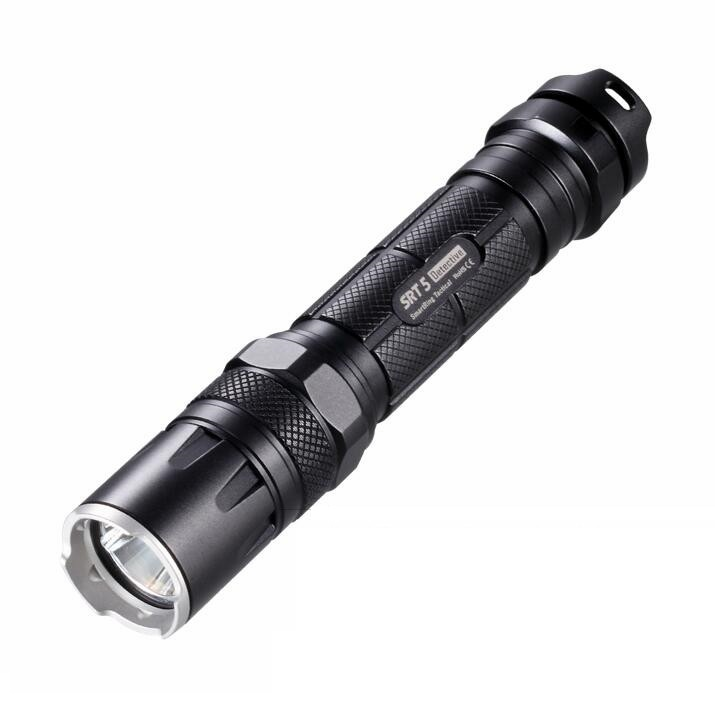 Nitecore SRT5 CREE XM-L (XM-L2 T6) 750lm Smart Ring Waterproof Rechargeable LED Tactical Flashlight Torch цена