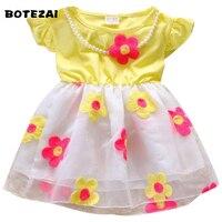 Kids Girls Dress Baby Pink Swan Summer Dresses Princess Sleeveless Party Frock Cartoon Children Fancy Design