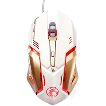 2016 PC Computer Mouse Macro 4000 DPI Led Optical 6D USB Wired game Gaming Mouse gamer For Laptop Upgrade S0A21 T61