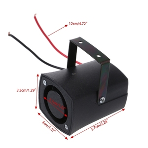 Image 4 - DC12V Auto Warning Siren Backup Alarms Horns Beep Reverse Slim Invisible Horn INY