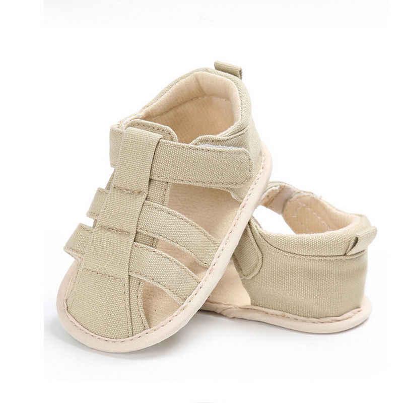 2018 Marka Yeni Yürüyor bebek Yenidoğan Çocuklar Bebek Erkek Kanvas Yumuşak Sole Beşik Sneakers Sandalet Ayakkabı Moda Bebek Ayakkabıları